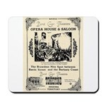 Birdcage Theater Mousepad