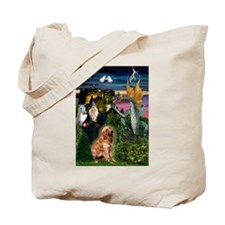 The Magical Golden Tote Bag