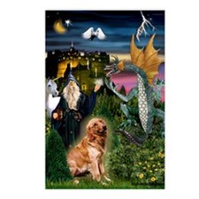 The Magical Golden Postcards (Package of 8)