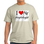 I Heart My Hoplologist Light T-Shirt