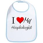 I Heart My Hoplologist Bib