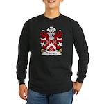 Tristram Family Crest Long Sleeve Dark T-Shirt