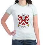 Tristram Family Crest Jr. Ringer T-Shirt