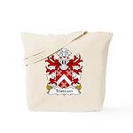 Tristram Family Crest Tote Bag