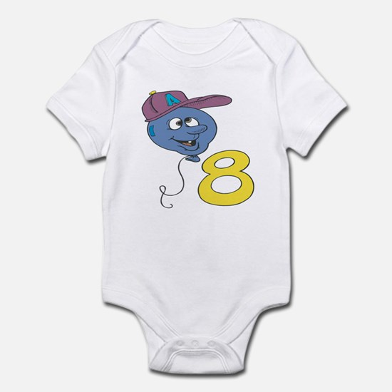 Eighth (8th) Birthday Infant Bodysuit