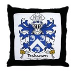 Trahaearn Family Crest Throw Pillow