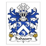 Trahaearn Family Crest Small Poster