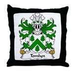 Tomlyn Family Crest Throw Pillow