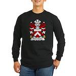 Thimbleby Family Crest Long Sleeve Dark T-Shirt