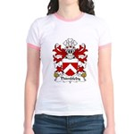 Thimbleby Family Crest Jr. Ringer T-Shirt