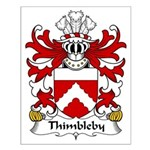 Thimbleby Family Crest Small Poster
