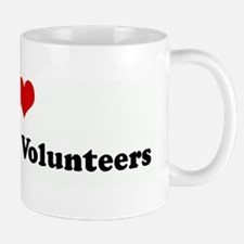 I Love Fred Meyer Volunteers Mug