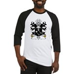 Teilo Family Crest Baseball Jersey