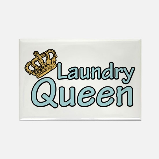 Laundry Queen Rectangle Magnet