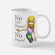 No Cell Phone Mug