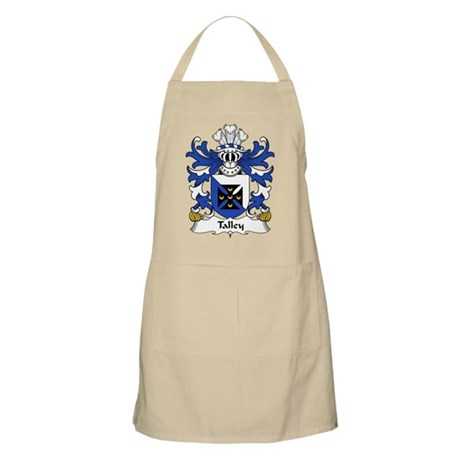 Talley Family Crest BBQ Apron
