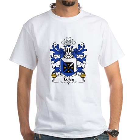 Talley Family Crest White T-Shirt