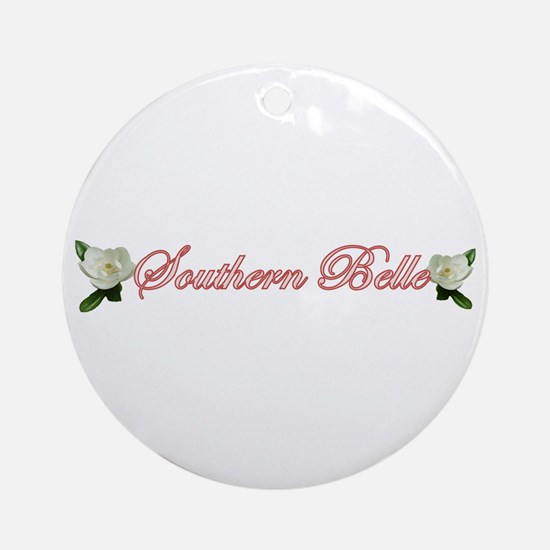Southern Belle Ornament (Round)