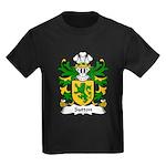 Sutton Family Crest Kids Dark T-Shirt