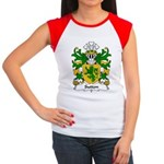 Sutton Family Crest Women's Cap Sleeve T-Shirt