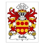 Sully Family Crest Small Poster