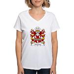 Stepney Family Crest Women's V-Neck T-Shirt