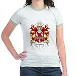 Stepney Family Crest Jr. Ringer T-Shirt