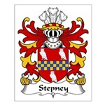 Stepney Family Crest Small Poster