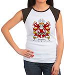 Stepney Family Crest Women's Cap Sleeve T-Shirt