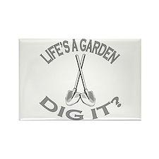 Joe Dirt - Life's A Garden, Dig It! Rectangle Magn