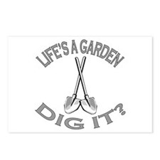 Joe Dirt - Life's A Garden, Dig It! Postcards (Pac