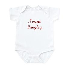 TEAM Langley REUNION  Infant Bodysuit