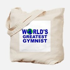 World's Greatest Gymnist Tote Bag