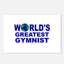 World's Greatest Gymnist Postcards (Package of 8)
