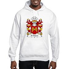 St Maur Family Crest Hoodie