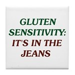 Gluten Sensitivity: It's in the Jeans Tile Coaster