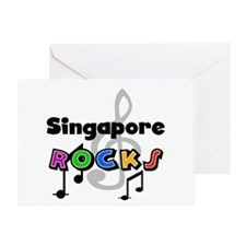 Singapore Rocks Greeting Card