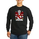 St John Family Crest Long Sleeve Dark T-Shirt