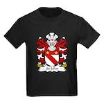 St John Family Crest Kids Dark T-Shirt