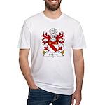 St John Family Crest Fitted T-Shirt