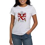 St John Family Crest Women's T-Shirt
