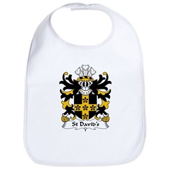 St David's Family Crest Bib