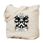 Spencer Family Crest Tote Bag