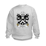 Spencer Family Crest Kids Sweatshirt