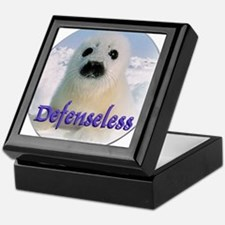 Defenseless Keepsake Box