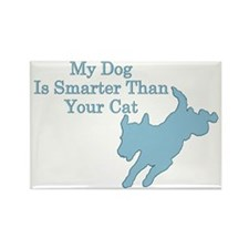 My Dog is Smarter Rectangle Magnet