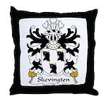 Skevington Family Crest Throw Pillow