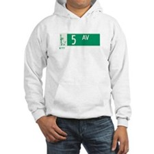 5th Avenue in NY Hoodie