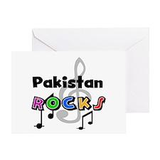 Pakistan Rocks Greeting Card