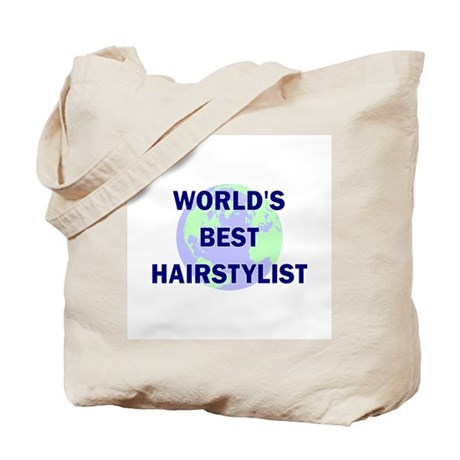 World's Best Hairstylist Tote Bag